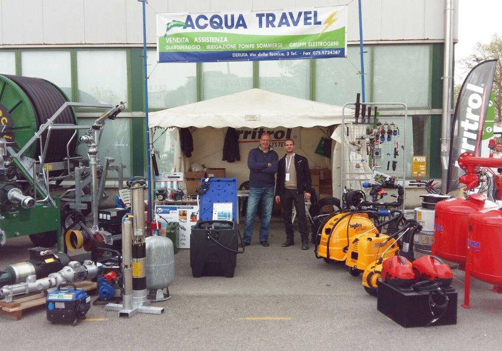 SUCCESSO AGRIUMBRIA 2016 Acqua Travel conferma successo AgriUmbria
